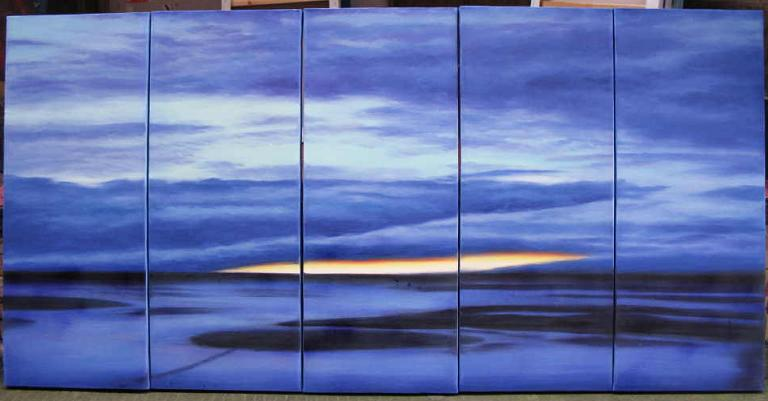 Dafen Oil Painting on canvas seascape painting -set542