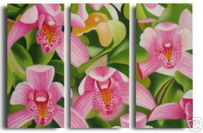 Dafen Oil Painting on canvas the flower painting -set557