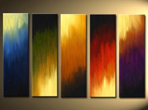 Dafen Oil Painting on canvas abstract -set 577