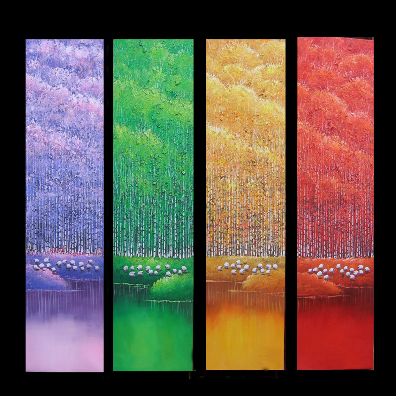 Dafen Oil Painting on canvas abstract -set 594