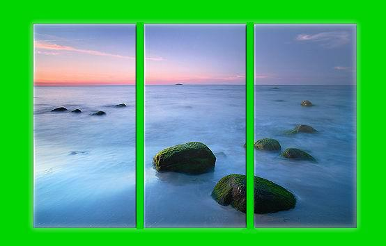 Dafen Oil Painting on canvas seascape painitng -set598