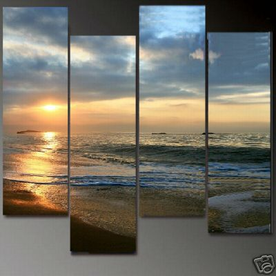 Dafen Oil Painting on canvas seascape painting -set609