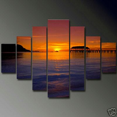 Dafen Oil Painting on canvas seascape painting -set610