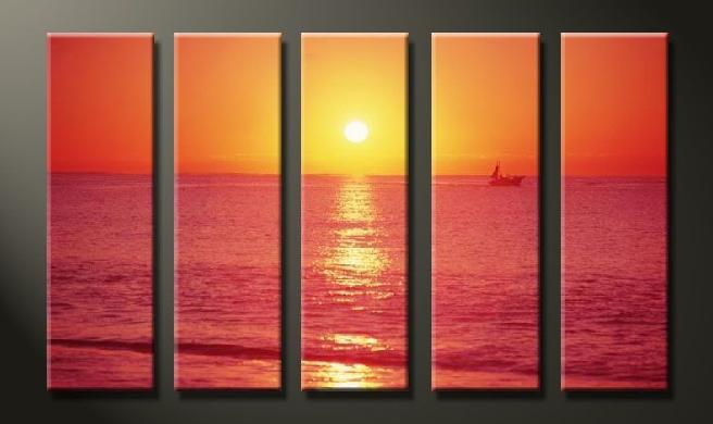 Dafen Oil Painting on canvas seascape painting -set625