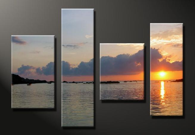 Dafen Oil Painting on canvas seascape painting -set645