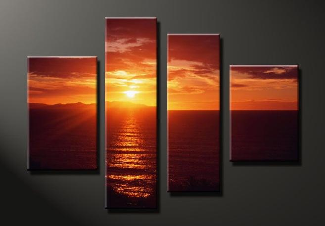 Dafen Oil Painting on canvas seascape painting -set647