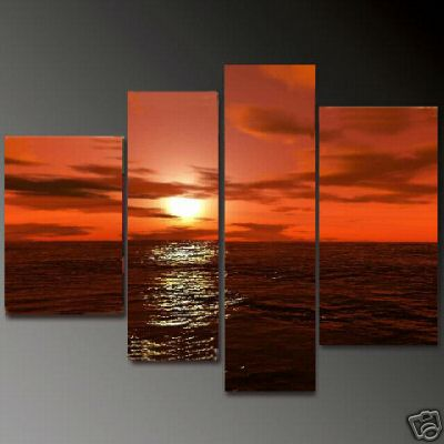 Dafen Oil Painting on canvas seascape painting -set670