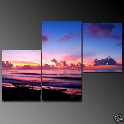 Dafen Oil Painting on canvas seascape painting -set673
