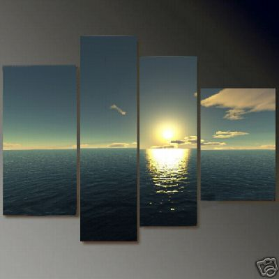 Dafen Oil Painting on canvas seascape painting -set675