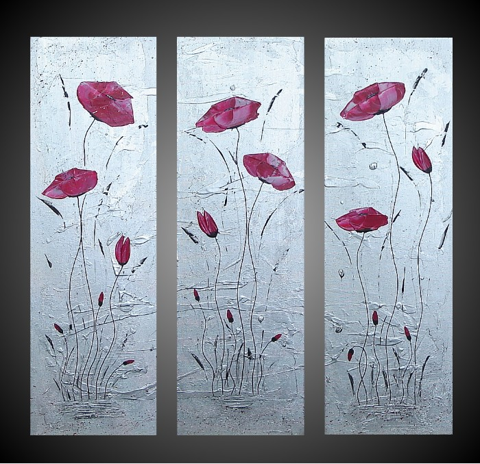 Dafen Oil Painting on canvas flower painting -set683