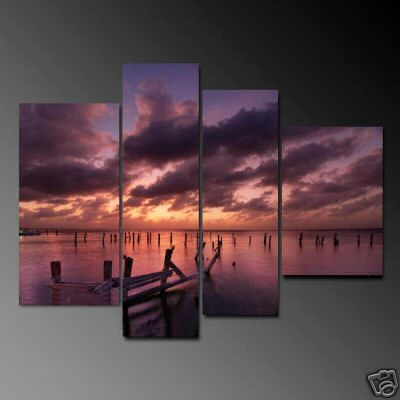 Dafen Oil Painting on canvas seascape painting -set691